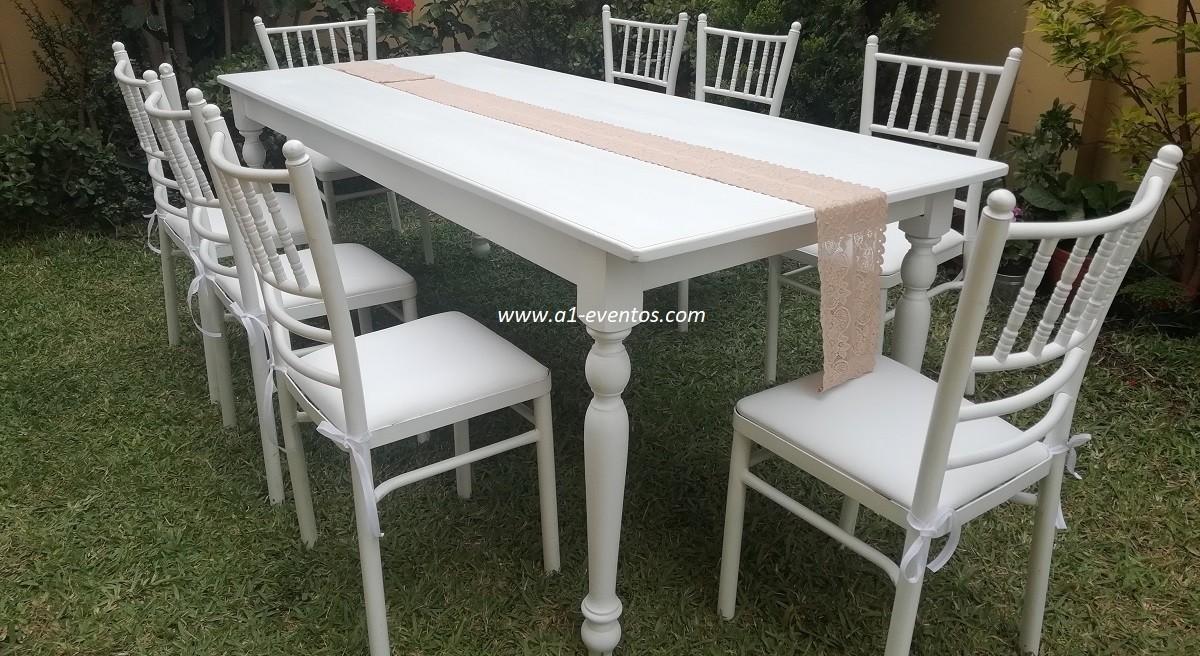 mesa rectangular vintage 3