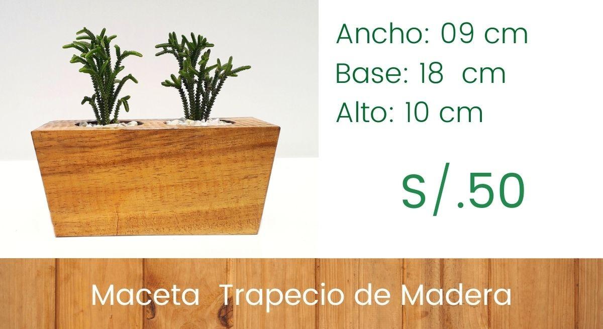 Maceta Trapecio - Modelo Invertido