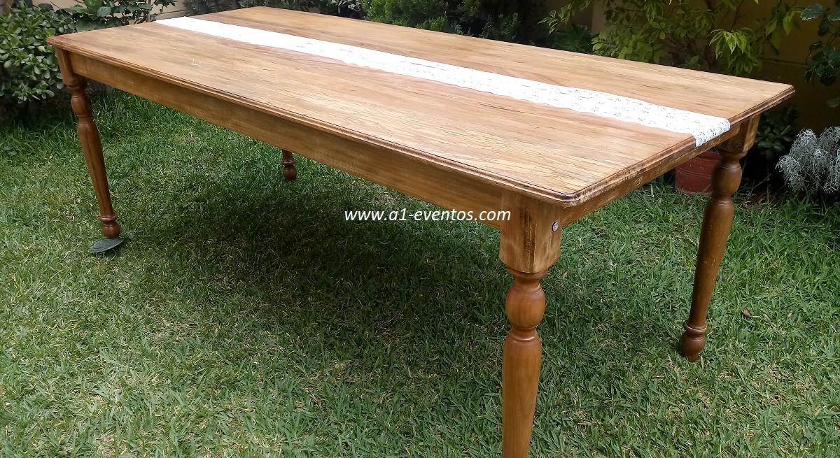 mesa rustica 156